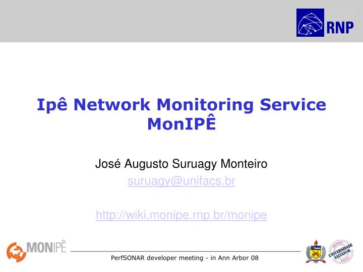 ip network monitoring service monip n.