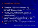 4 what is apa style