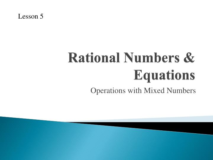 rational numbers equations n.
