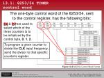 13 1 8253 54 timer control word3
