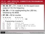 13 2 x86 8253 54 connection programming using counter 0