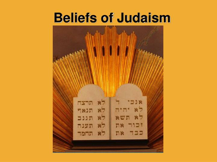 beliefs of judaism n.