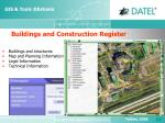 buildings and construction register