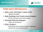 public sector gis resources