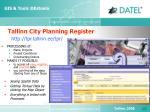 tallinn city planning register