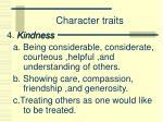 character traits3