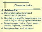 character traits7