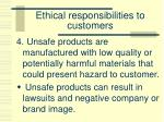ethical responsibilities to customers4