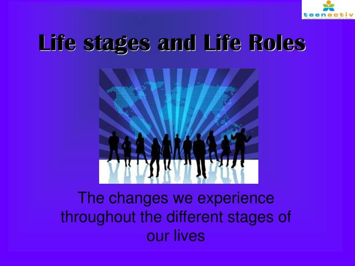 life stages and life roles n.