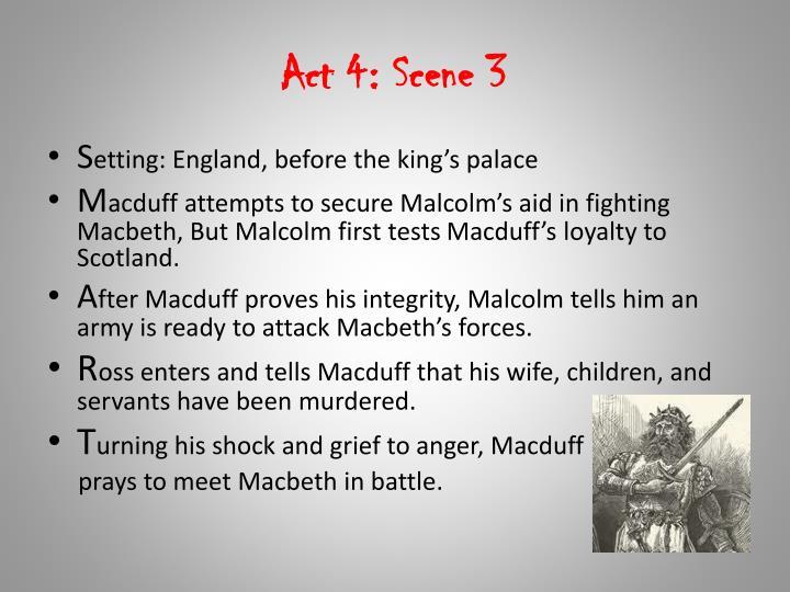 Act 4: Scene 3