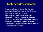motor control example11