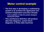 motor control example3