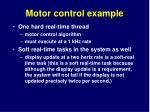 motor control example7