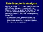 rate monotonic analysis8