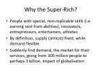 why the super rich