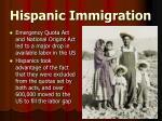 hispanic immigration