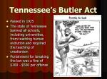 tennessee s butler act