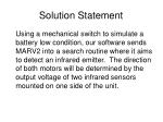 solution statement