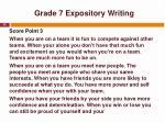 grade 7 expository writing2