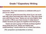 grade 7 expository writing3