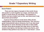 grade 7 expository writing4