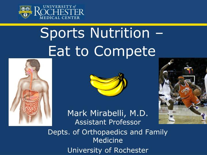 sports nutrition eat to compete n.