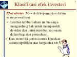 klasifikasi efek investasi1