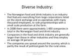 diverse industry