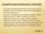 chiapas background history
