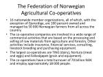 the federation of norwegian agricultural co operatives1