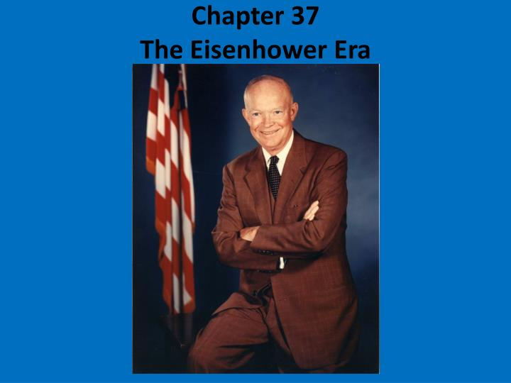 chapter 37 the eisenhower era n.
