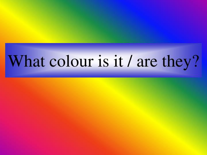 what colour is it are they n.