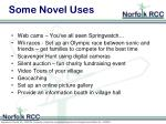 some novel uses
