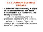 6 3 3 common business library