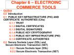 chapter 6 electroinc commerce tools