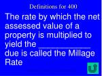 definitions for 400