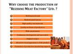 why choose the production of rezekne meat factory ltd