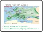 fertile plains in europe