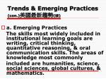 trends emerging practices con