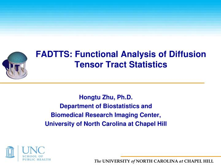 fadtts functional analysis of diffusion tensor tract statistics n.