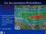 ice accumulation probabilities
