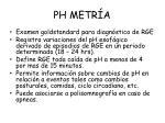 ph metr a