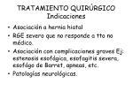 tratamiento quir rgico indicaciones