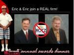 eric eric join a real firm