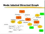 node labeled directed graph