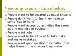 visioning events lincolnshire