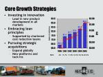 core growth strategies