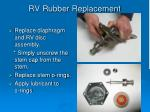 rv rubber replacement