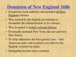 dominion of new england 1686