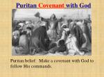 puritan covenant with god
